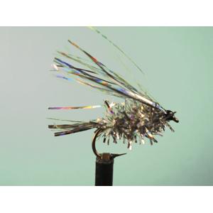 Mouche Lm2g streamer léger - ST62 - Pearl Holo Sparkler Blob  h10