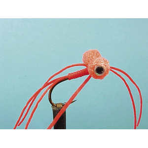 Mouche Lm2g streamer léger - ST70 - Bloodworm Booby  h10