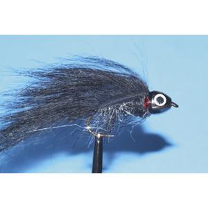 Mouche Lm2g streamer tête cône ou haltère - ST82 - Black  h8