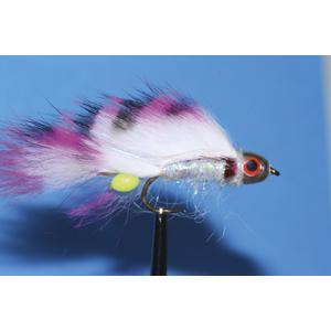 Mouche Lm2g streamer tête cône ou haltère - ST87 - Barbie  h10