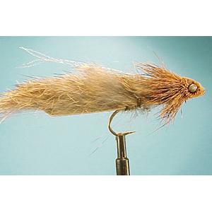 Mouche Lm2g streamer tête cône ou haltère - ST93 - Natural Muddler Dumbell  h8