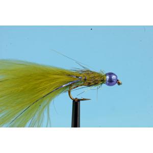 Mouche Lm2g streamer plombé - ST47C - Blue Bead Damsel  h10