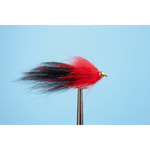 Mouche Lm2g streamer plombé - ST47I - Black-Red h10