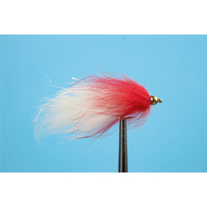 Mouche Lm2g streamer plombé - ST47M - White-Red h10