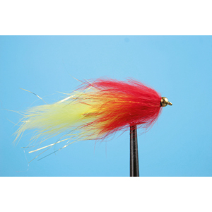 Mouche Lm2g streamer plombé - ST47O - Yellow-Red h10