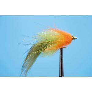 Mouche Lm2g streamer plombé - ST47P - Olive-Yellow-Orange h10
