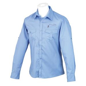 Chemise Lm2g - Modèle 100% Coton - Taille S - Bleu