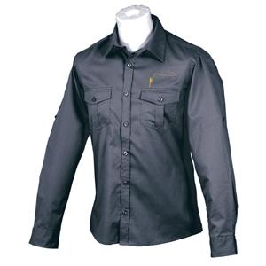 Chemise Lm2g - Modèle 100% Coton - Taille S - Bleu marine