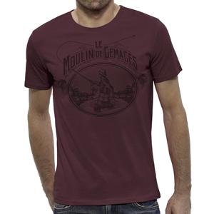 T-Shirt Lm2g - Vintage Bordeaux - Taille S