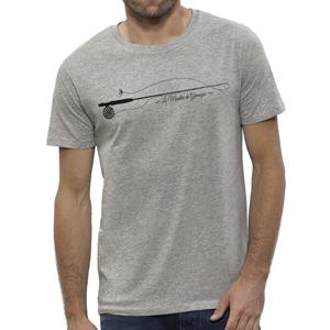 T-Shirt Lm2g - Design Gris- Taille S