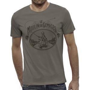 T-Shirt Lm2g - Vintage Noisette- Taille S