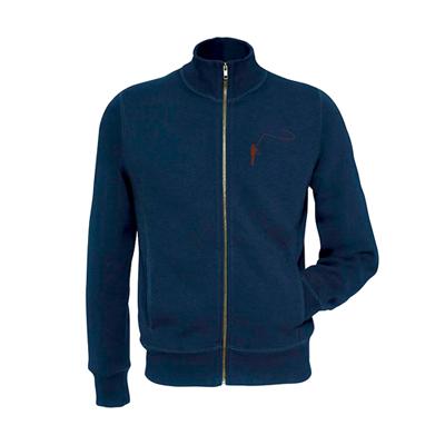 Pull Lm2g - Modèle Molletonné - Taille S - Bleu
