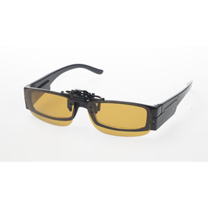 Clip Loupe grossissante jaune