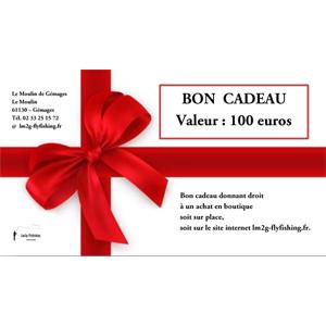 Bon cadeau d'une valeur de 100 euros