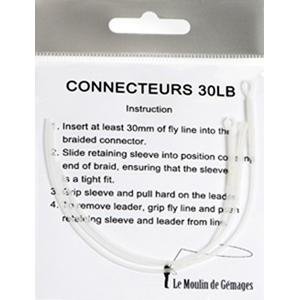 Accessoires BDL / Polyleaders LM2G  - Connecteurs chaussette - Soie 2 à 6 - 30 Lb