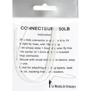 Accessoires BDL Polyleaders LM2G  - Connecteurs chaussette - Soie 7 à 12 - 50 Lb
