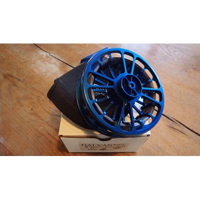Moulinet d'occasion Galvan Torque Tournament 18 Bleu - Soie de 12 à 15