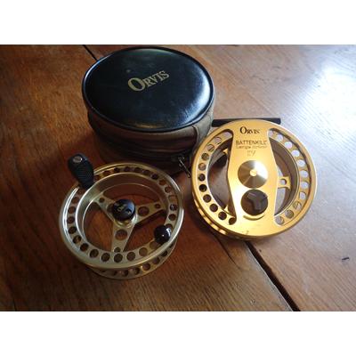 Moulinet d'occasion Orvis Battenkills IV + bobine