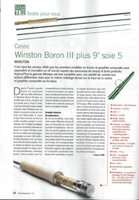 Canne mouche Winston Boron III Plus