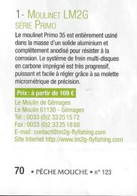 Moulinet Primo Lm2g
