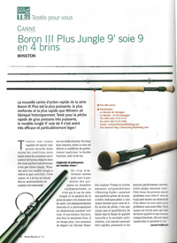 canne Winston Boron III Plus Jungle 4 brins