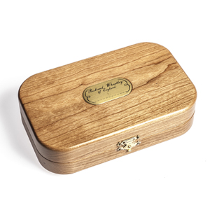 Boîte à mouches Richard Wheathley - Modèle Bois Cerisier / Cases