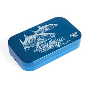 Boîte à mouches Richard Wheathley - Modèle Bonefish gravé