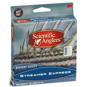 Soie Scientific Anglers Streamer Express - 300 grains Plongeant