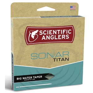Soie Scientific Anglers Sonar Titan Big Water - 12 à 14 - 600 grains plongeant - 32m