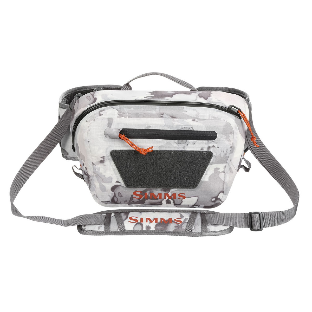 Bagagerie Simms - Dry Creek Z Hip Pack - Cloud Camo Grey