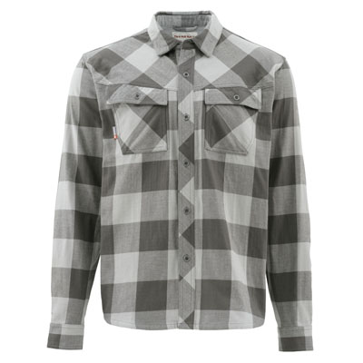 Chemise Simms - Heavyweight Flannel - Taille S - Boulder Plaid