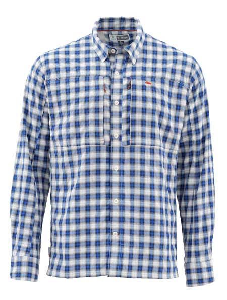 Chemise Simms - Bugstopper - Taille S - Admiral Blue Plaid