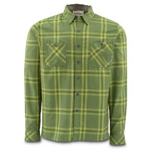 Chemise Simms - Black's Ford Flannel LS Shirt - Taille S - Grove Plaid
