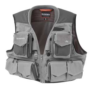 Gilet Simms - G3 Guide Vest - Taille S - Steel