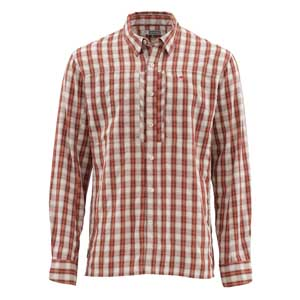 Chemise Simms - Bugstopper - Taille S - Rusty Red Plaid