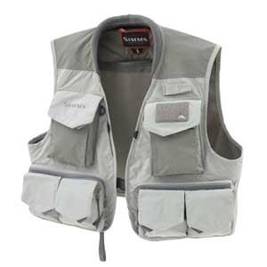 Gilet Simms - Freestone Vest - Taille S - Smoke