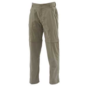 Pantalon Simms - Superlight Zip Off Pant - Taille S - Tumbleweed