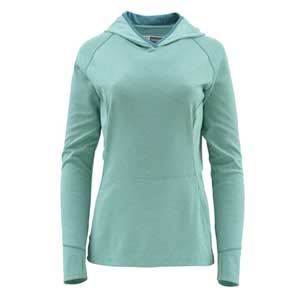 Pull Femme Simms - Bugstopper Hoody - Taille S - Aqua