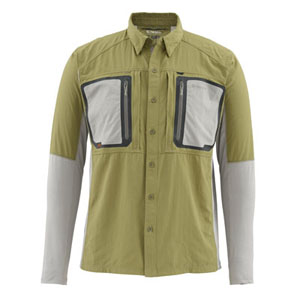 Chemise Simms - Taimen Tricomp - Taille S - Vert Army