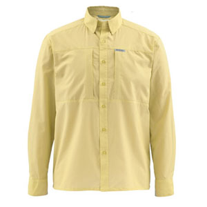 Chemise Simms - Ultralight - Taille S - Jaune Clair