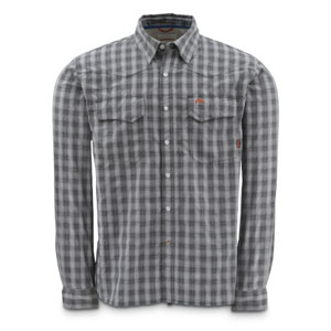 Chemise Simms - Big Sky Shirt - Taille S - Gris