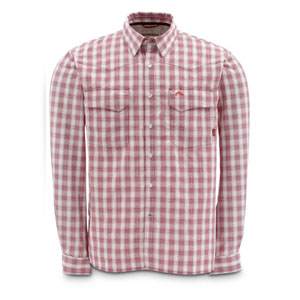 Chemise Simms - Big Sky Shirt - Taille S - Rouge