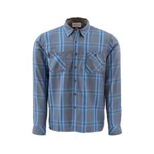 Chemise Simms - Black's Ford Flannel LS Shirt - Taille S - Nightfall Plaid