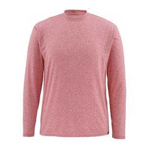 T-Shirt Simms -Bugstopper Tech LS Tee - Taille S - Brick