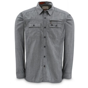 Chemise Simms - Cuda Shirt - Taille S - Gris