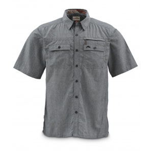 Chemise Simms - Cuda SS Shirt - Taille S - Gris