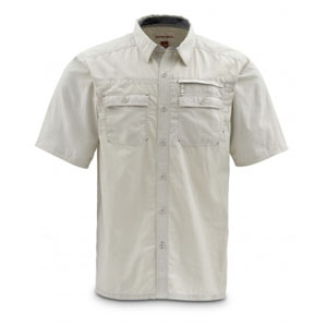 Chemise Simms - Cuda SS Shirt - Taille S - Pierre