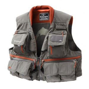 Gilet Simms - Guide Vest - Taille S - Steel