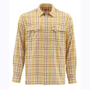 Chemise Simms - Legend - Taille S - Yellow Plaid