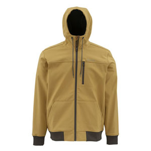 Veste Simms - Rogue Fleece  Hoody- Taille S - Honey Brown